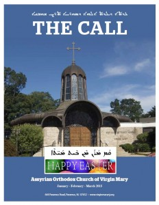 THE CALL – Q1, 2015