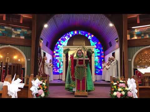 Palm Sunday Sermon by His Eminence Mor Dionysius John Kawak on April 1st, 2018