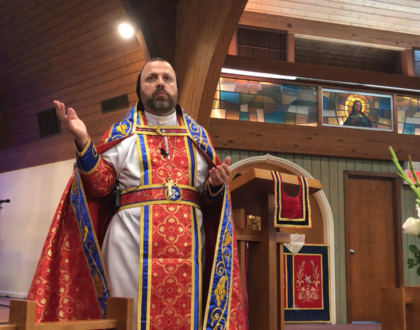 From Father Andrew Bahhi: Pentecost & Receiving the Holy Spirit