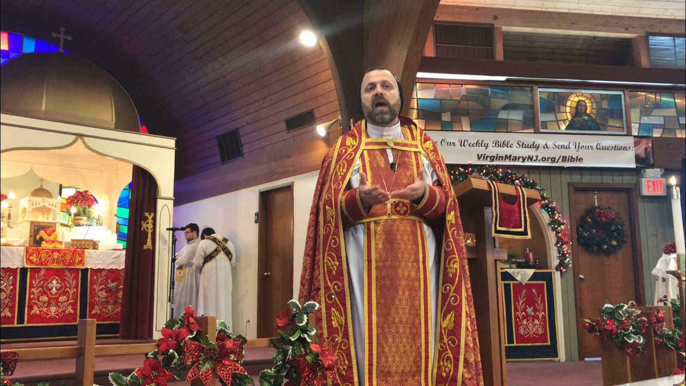 From Father Andrew Bahhi: New Year, New Life