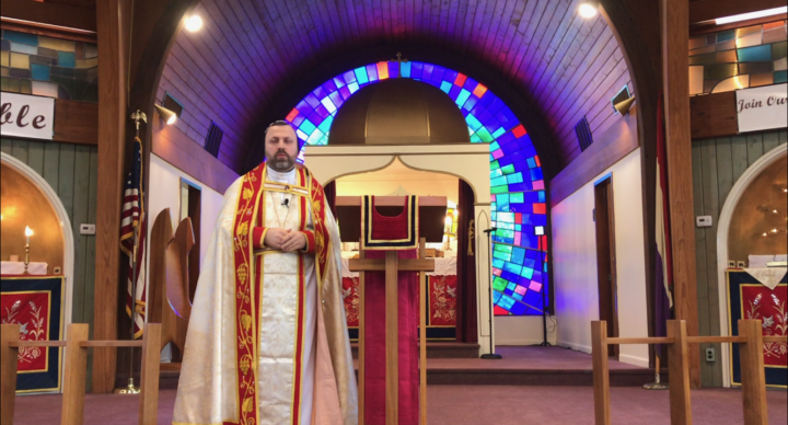 From Father Andrew Bahhi: Listen to Jesus with all your heart
