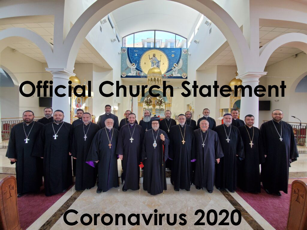 Official Church Announcement on Coronavirus - March 13, 2020