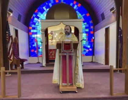 Paralytic Man Lent Assyrian Orthodox Church