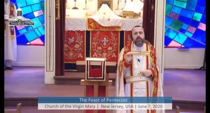 From Father Andrew Bahhi - The Feast of the Pentecost
